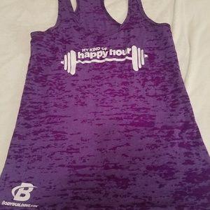 2 workout tank tops small- women's